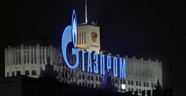 Οι εξαγωγές αερίου της Gazprom στην Ευρώπη
