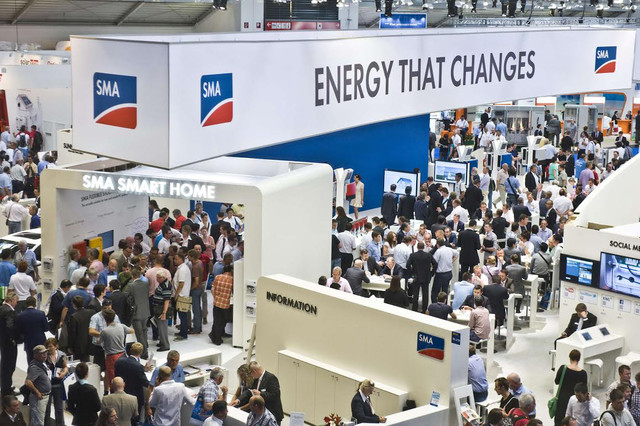 sma booth intersolar