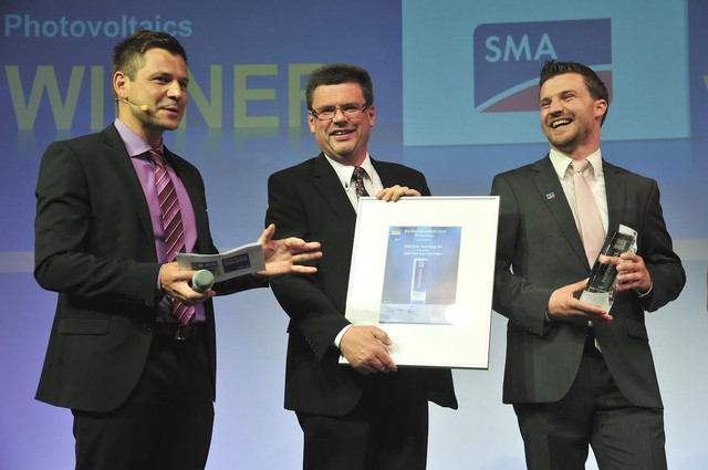Intersolar Award στη SMA