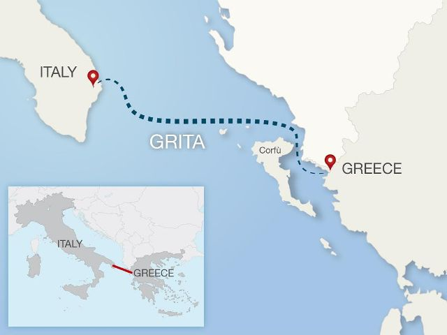 italy greece cable