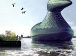 solar powered duck