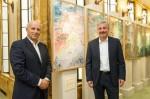 05/10/2014: Visita de ministro greco Yiannis Maniatis in Edison Milano