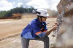woman miner
