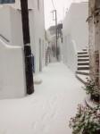 χιόνια Τήνος