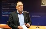 Ο υπουργός ΠΑΠΕΝ, Π. Λαφαζάνης