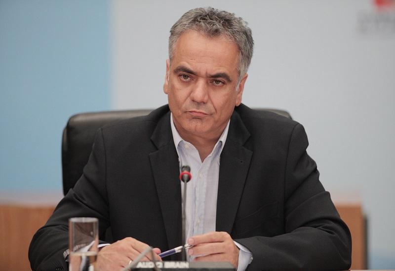 «Άδειασμα» Π. Σκουρλέτη για την επίθεση στο ΤΑΙΠΕΔ