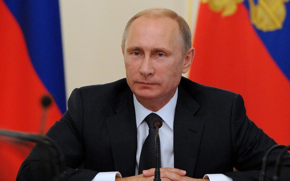 Πούτιν: Στην ατζέντα οι διάδρομοι διέλευσης ρωσικού φυσικού αερίου μέσω της Ελλάδας
