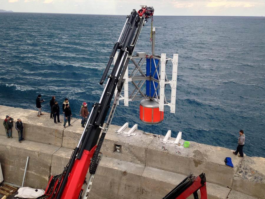 Σύστημα κυματικής ενέργειας λειτουργεί δοκιμαστικά στο Ηράκλειο