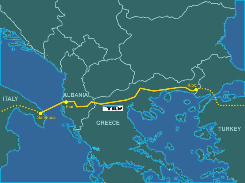 Εντός χρονοδιαγράμματος το ελληνικό τμήμα του TAP