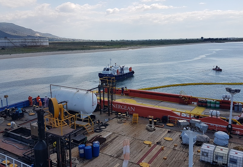 Energean: Άσκηση για την αντιμετώπιση θαλάσσιας ρύπανσης
