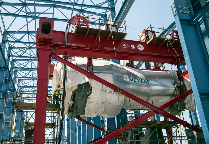 Αεριοστρόβιλοι της Siemens στο μεγαλύτερο συγκρότημα παραγωγής ηλ. ενέργειας