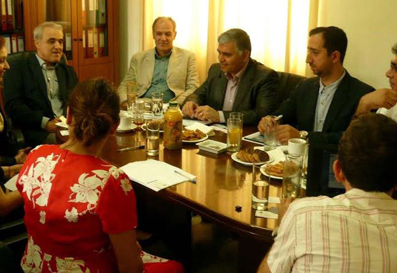 Επίσκεψη ιρανικής αντιπροσωπείας στο ΚΑΠΕ