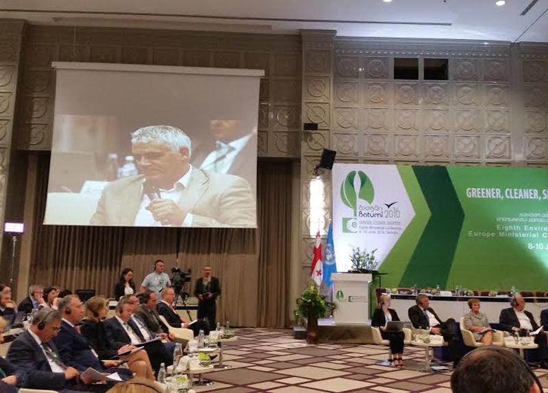 Ο Γ.Τσιρώνης στη Διάσκεψη της UNECE