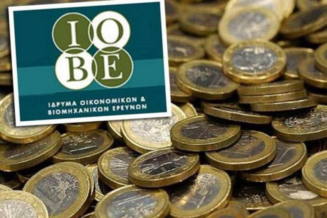 ΙΟΒΕ: Συρρίκνωση 1% της οικονομικής δραστηριότητας το 2016