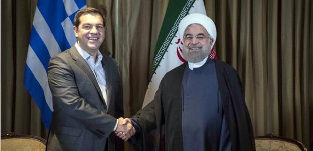 Συνάντηση Τσίπρα με τον πρόεδρο του Ιράν με ενεργειακή ατζέντα
