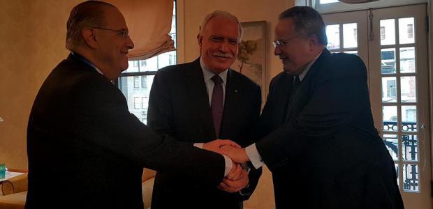 Με ενεργειακή ατζέντα τριμερής συνάντηση Ελλάδας, Κύπρου, Παλαιστίνης