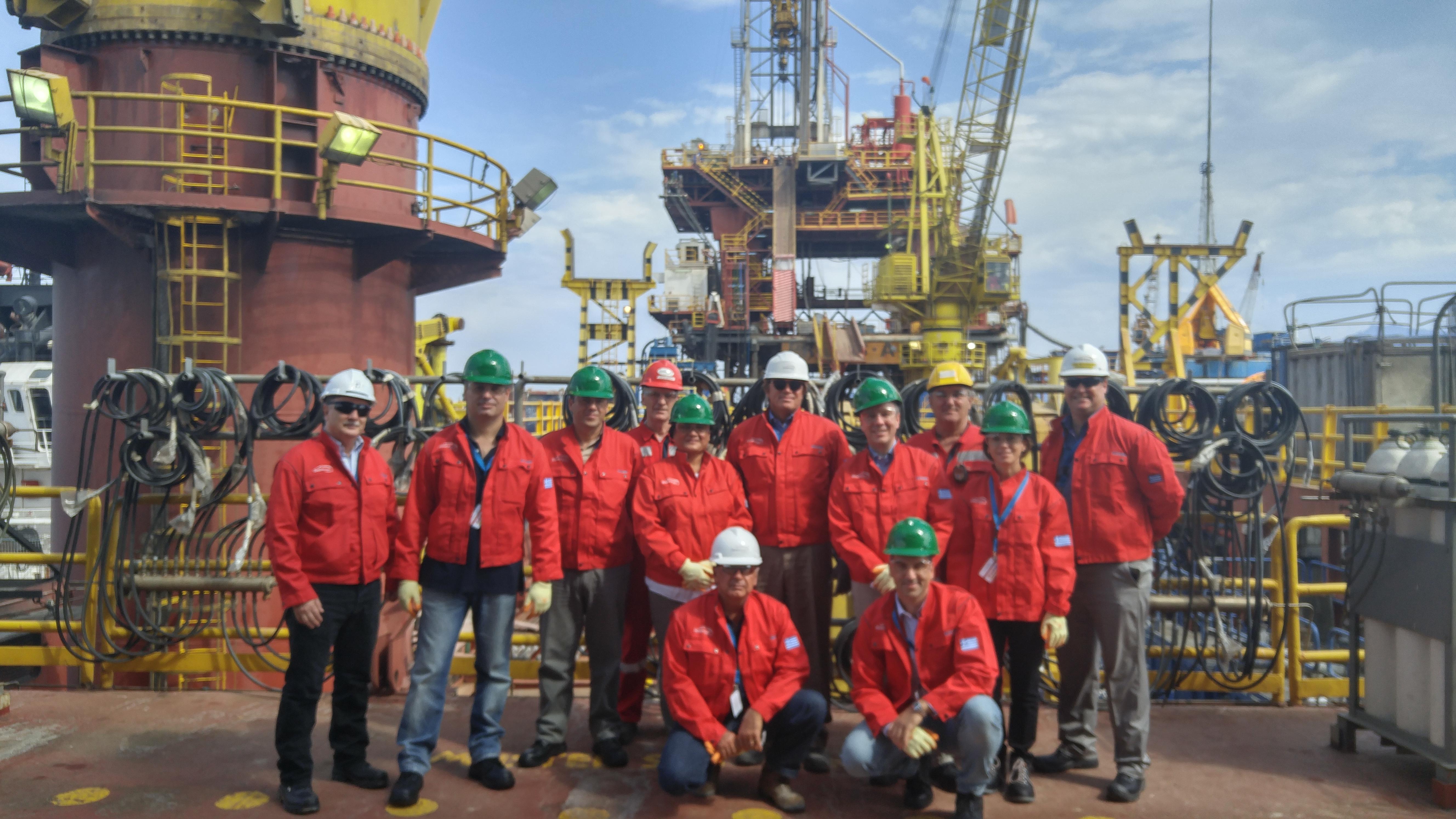 Επίσκεψη Αμερικανών διπλωματών στις εγκαταστάσεις της Energean στον Πρίνο