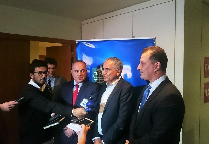 Στα τέλη Οκτωβρίου η μελέτη για τον «διάδρομο» φυσικού αερίου Ισραήλ-Κύπρου-Ελλάδας