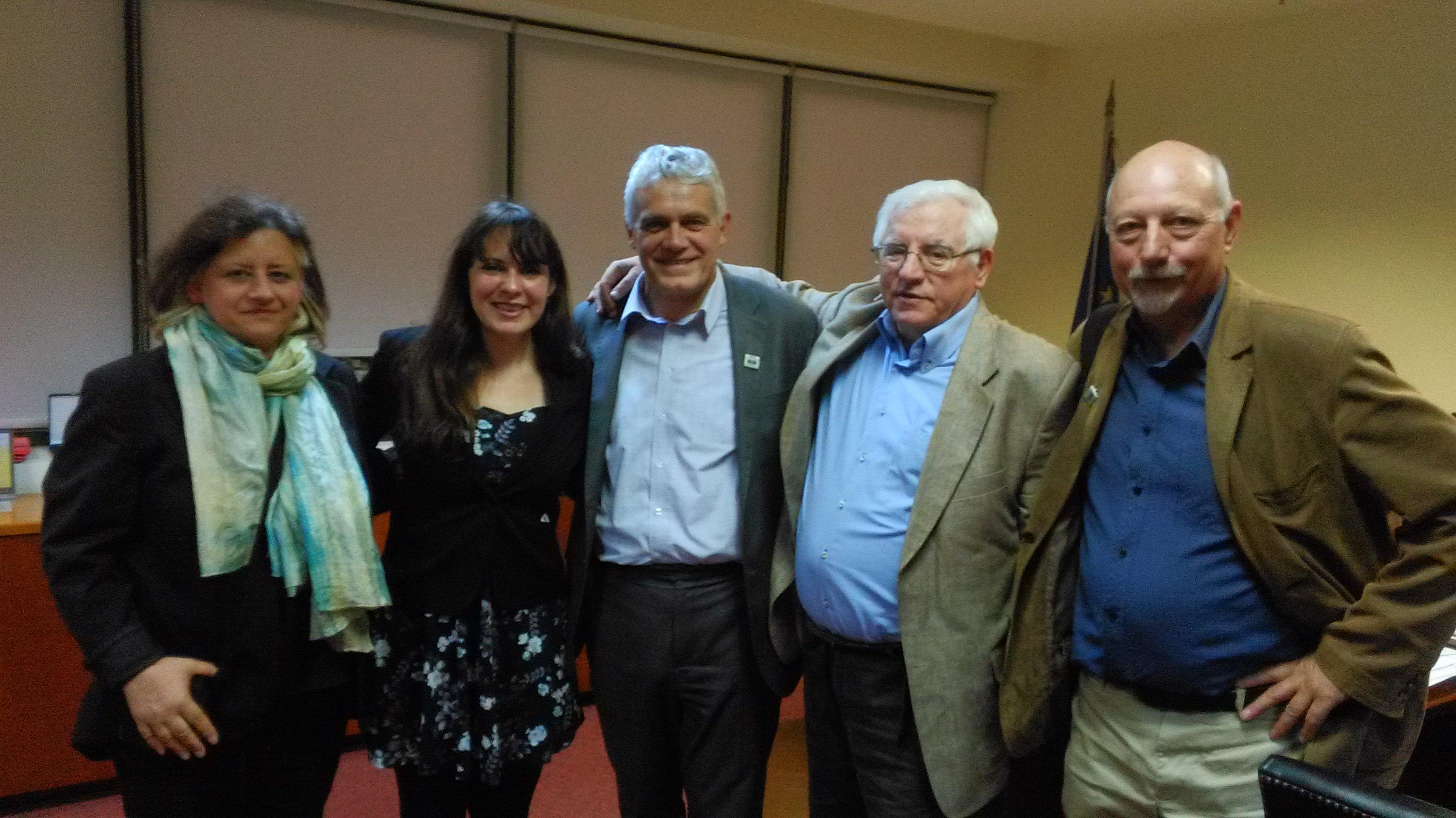 Συνάντηση Γ. Τσιρώνη με αντιπροσωπεία της Greece Solidarity Campaign για το περιβάλλον