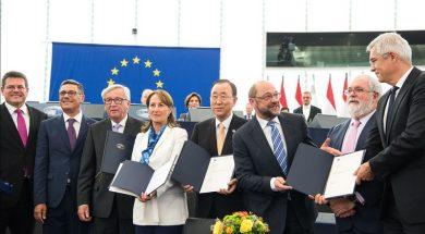 eu paris agreement