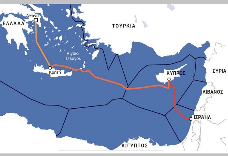 Αντίστροφη μέτρηση για την ηλ. διασύνδεση Ισραήλ-Κύπρου-Ελλάδας