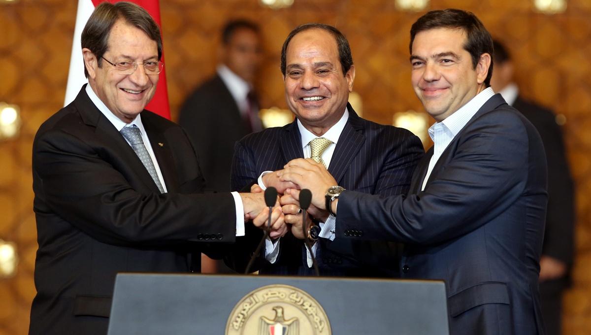 Το φυσικό αέριο στο επίκεντρο της τριμερούς συνόδου Ελλάδας-Κύπρου-Αιγύπτου