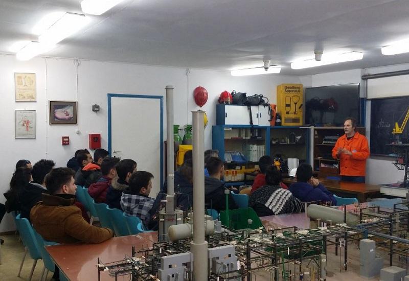 Φοιτητές του Αριστοτέλειου και σπουδαστές του ΤΕΙ Κ. Μακεδονίας στις εγκαταστάσεις της Energean