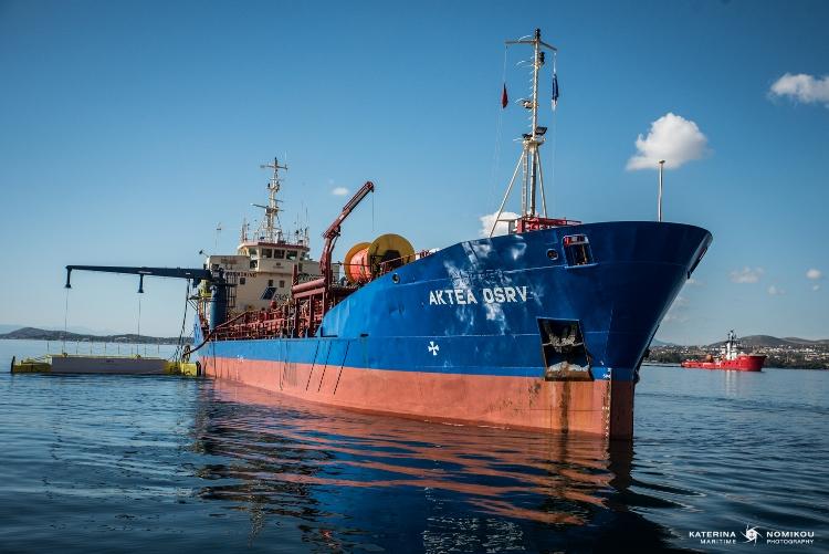 Τεχνική Προστασίας Περιβάλλοντος Α.Ε.: Άσκηση ετοιμότητας στον Κόλπο της Ελευσίνας