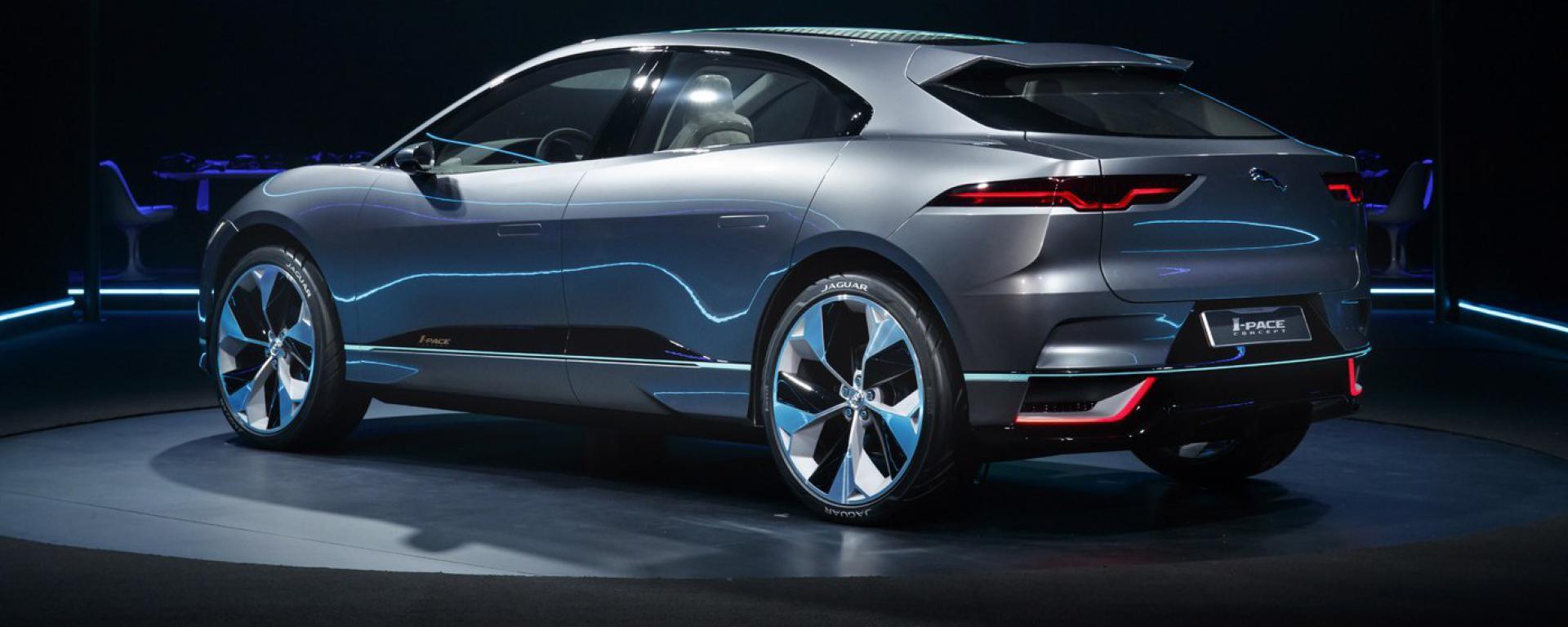 To πρώτο της ηλεκτροκίνητο αυτοκίνητο παρουσίασε η Jaguar