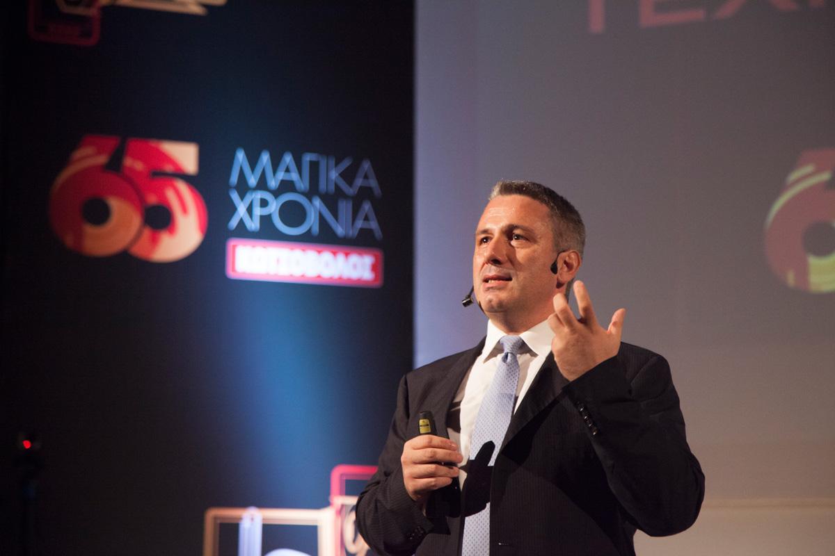 'Manager of the Year' o Ανδρέας Αθανασόπουλος στο 18ο συνέδριο InfoCom World 2016