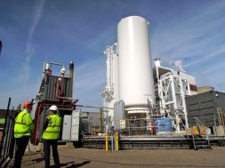 Highview energy storage plant