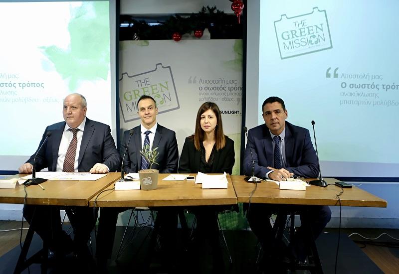 Green Mission: Πρωτοβουλία της Sunlight Recycling για την ορθή ανακύκλωση μπαταριών μολύβδου-οξέος