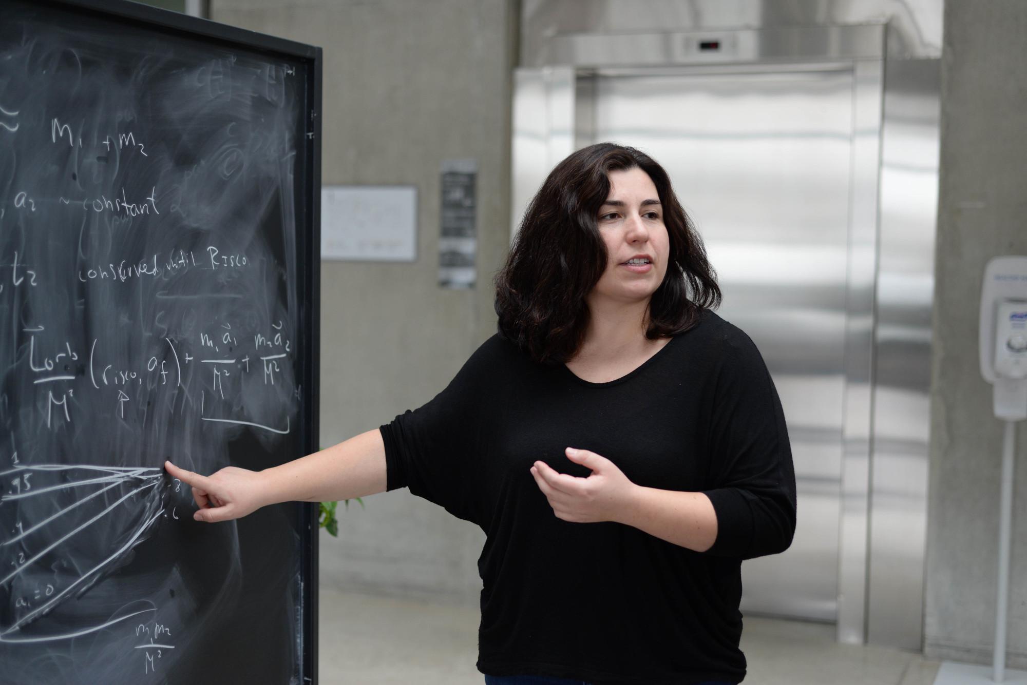 """Η Ελληνίδα φυσικός Ασημίνα Αρβανιτάκη απέσπασε τη διάκριση  """"New Horizons in Physics"""""""