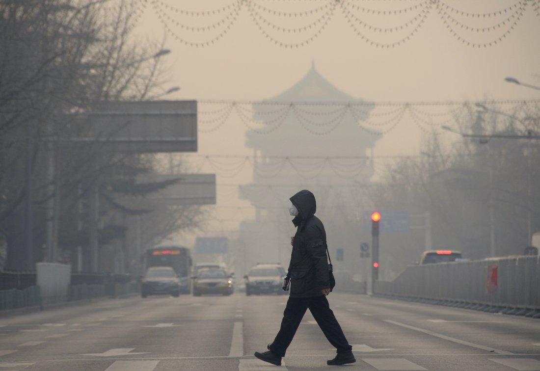 Περιβαλλοντική αστυνομία ιδρύει το Πεκίνο κατά της αιθαλομίχλης