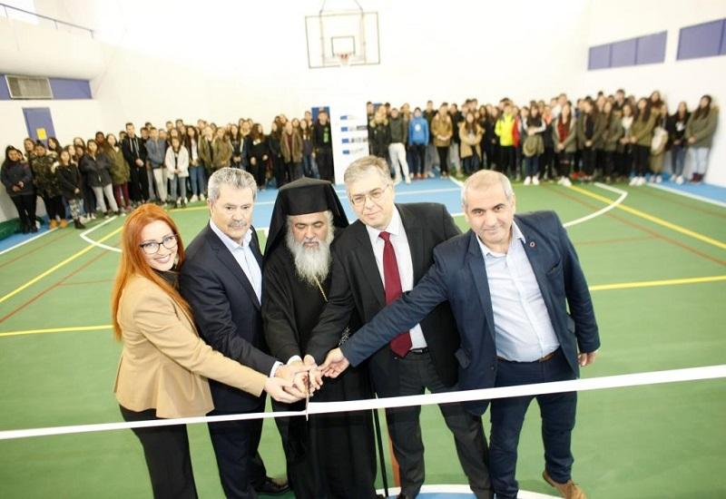 ΕΛΠΕ: Χορηγία για την ανακατασκευή του κλειστού γυμναστηρίου στο 2ο Γυμνάσιο Εχεδώρου στην Κεντρική Μακεδονία