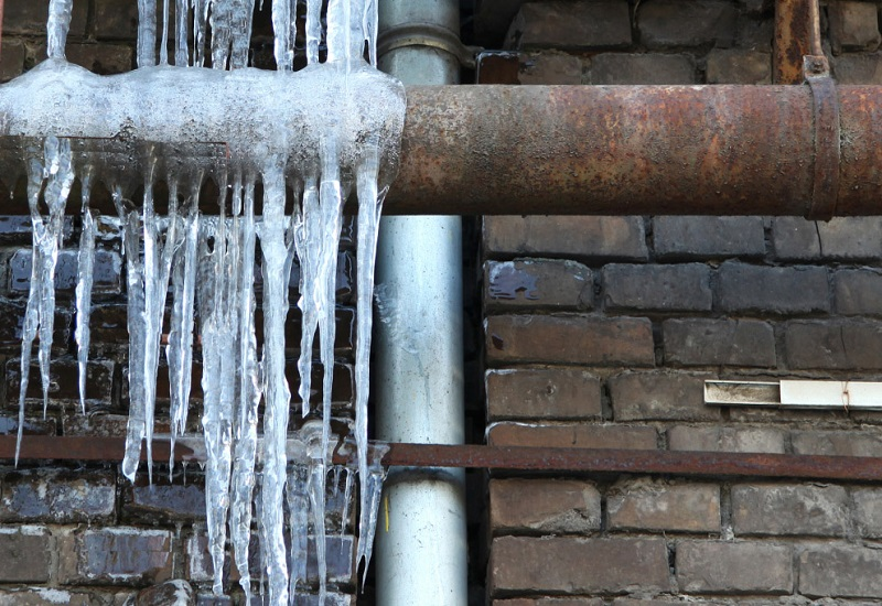 Προστατέψτε την υδραυλική εγκατάσταση από τον παγετό