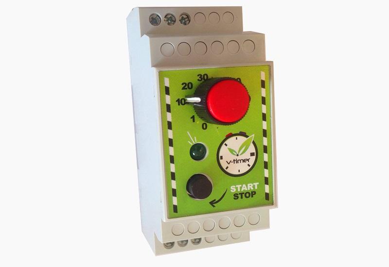 V-timer: Ασφάλεια, ευκολία και οικονομία στη χρήση του θερμοσίφωνα