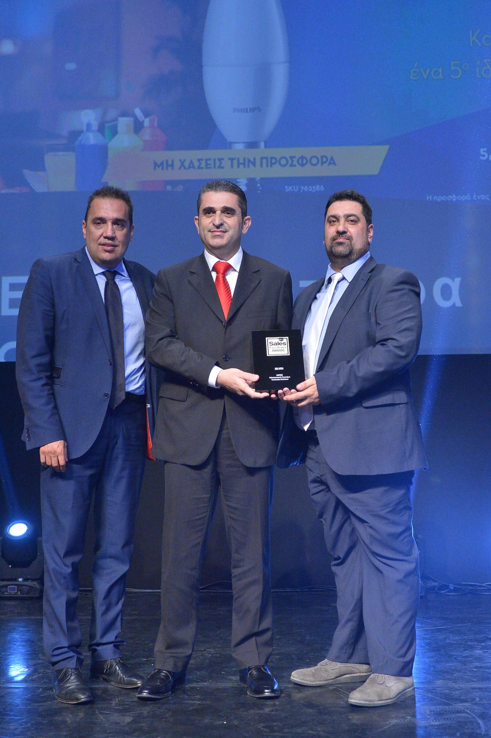 Η ΚΑΥΚΑΣ διακρίνεται για μία ακόμα φορά στα Sales Excellence Awards 2017