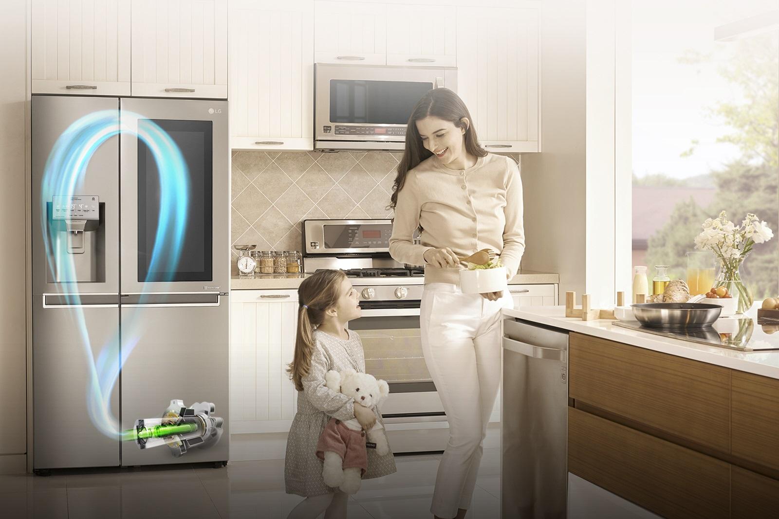 LG Electronics:  Πώληση 15 εκατομμυρίων ψυγείων  με την τεχνολογία Ιnverter Γραμμικού Συμπιεστή