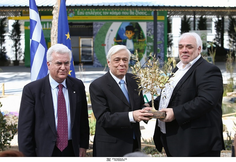 Εγκαίνια του πρώτου πανευρωπαϊκού Πάρκου Περιβαλλοντικής Εκπαίδευσης & Ανακύκλωσης
