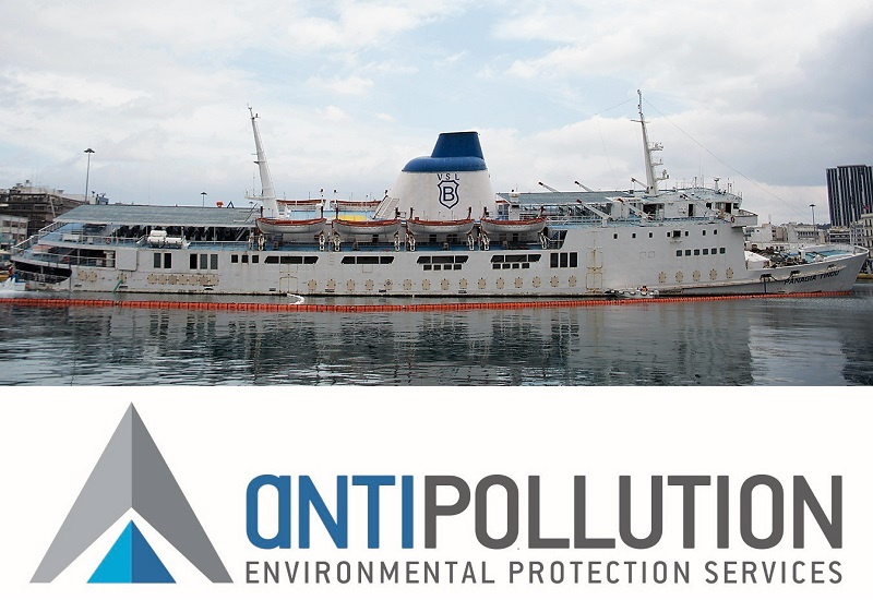 "Antipollution: Nαυαγιαίρεση και απομάκρυνση του ""Παναγία Τήνου"" (vd.)"