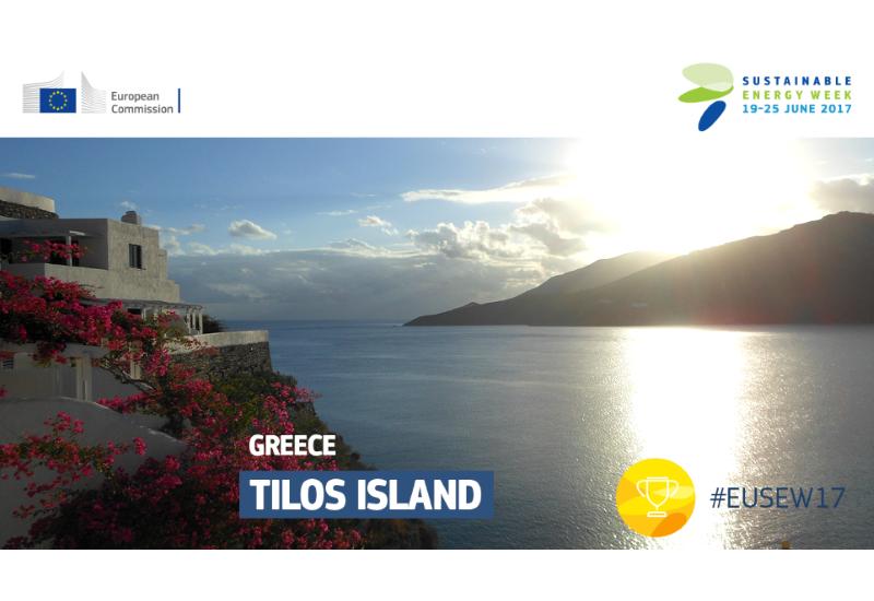 Υποψήφια η Τήλος στα ευρωπαϊκά βραβεία βιώσιμης ενέργειας
