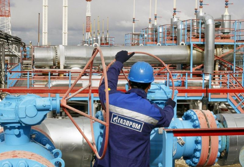 Gazprom: Εξαγωγές 65,6 δισ. κ.μ. φυσικου αερίου στην Ευρώπη στο α' τρίμηνο 2017