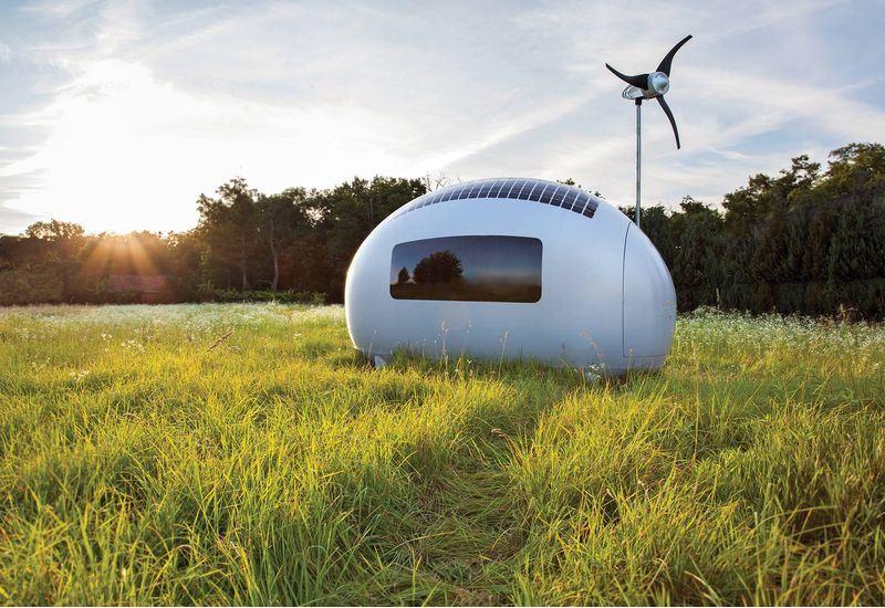 Ecocapsule: To κινητό αυτοσυντηρούμενο μικροσκοπικό σπίτι!