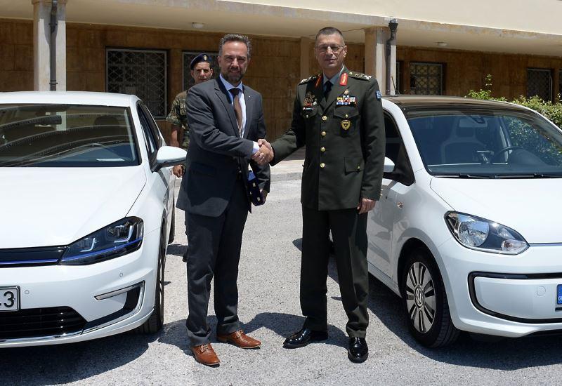 Τα πρώτα ηλεκτρικά οχήματα του Ελληνικού Στρατού