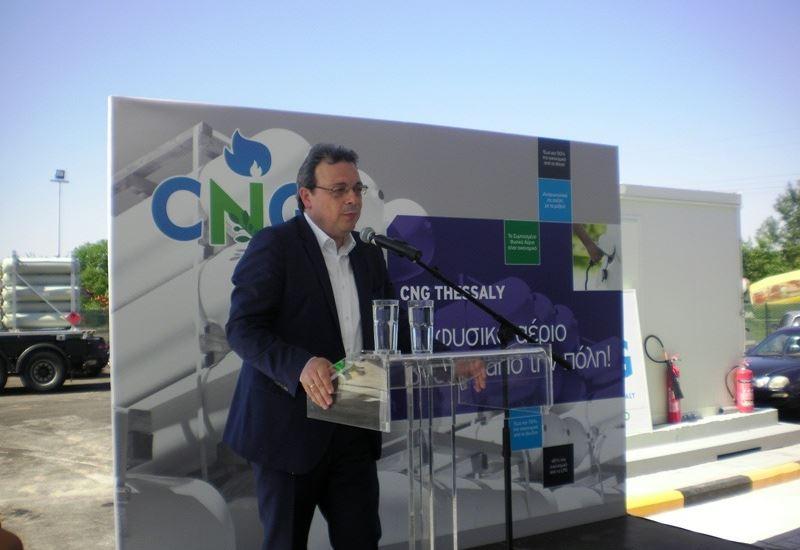 Περιοδεία του Σ. Φάμελλου στη Θεσσαλία για το CNG