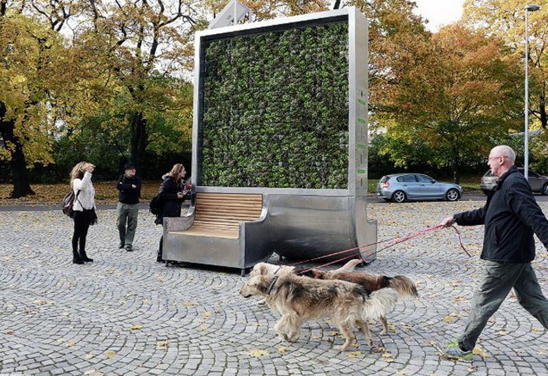 Ο «πράσινος τοίχος» που καθαρίζει τον αέρα των πόλεων