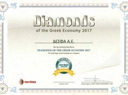 Diamonds of the Greek Economy 2017 – DESFA