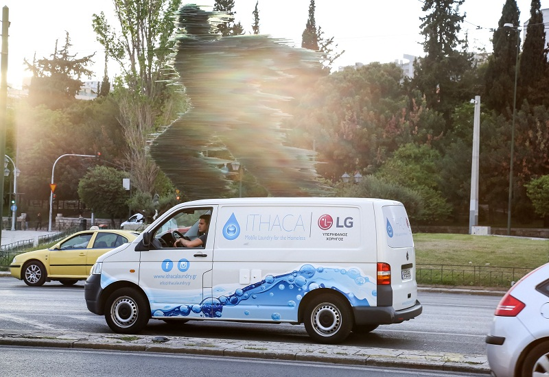 LG: Υπερήφανος Χορηγός του «Ithaca Laundry»