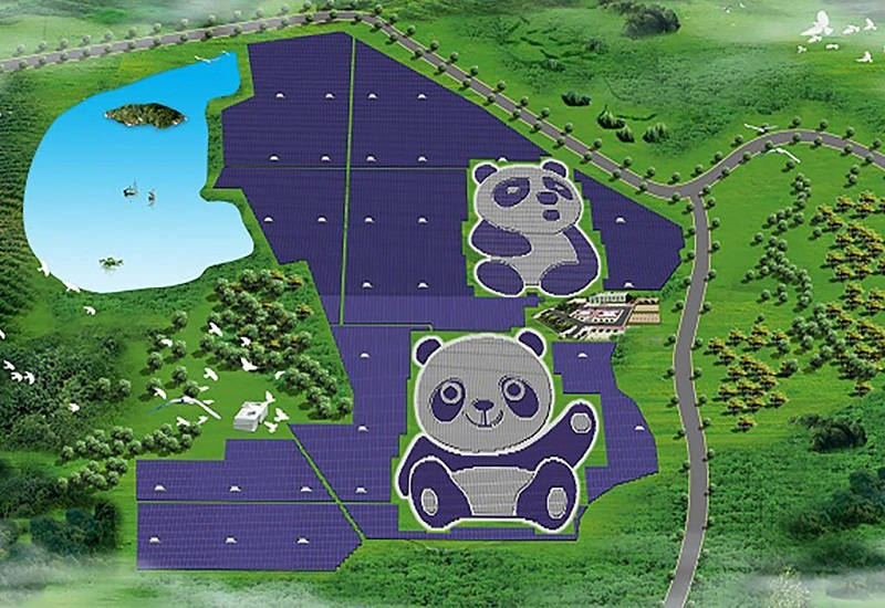 Κίνα: Φωτοβολταϊκά σε σχήμα… panda